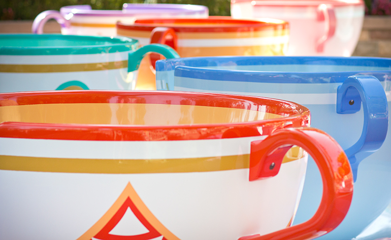 The Disneyland Teacups Are One of Alexis Alcala's Favorite Rides
