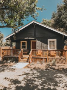 Cottonwood Cottages in Los Alamos California via air bnb