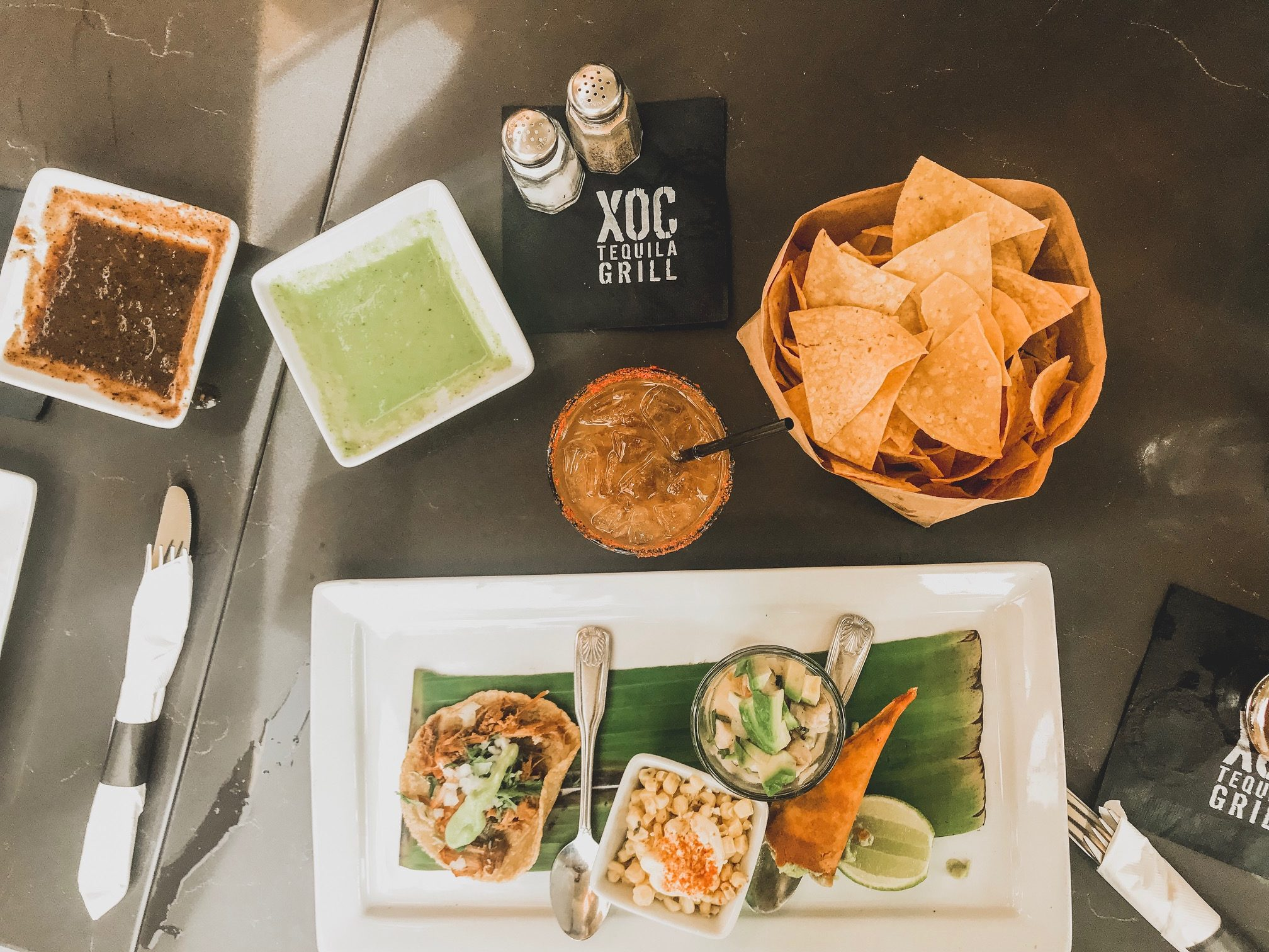 XOC Mexican restaurant at the village for Topanga Food Crawl